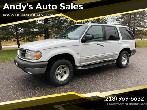 2000 Ford Explorer XLT for sale at Andy's Auto Sales in Hibbing MN