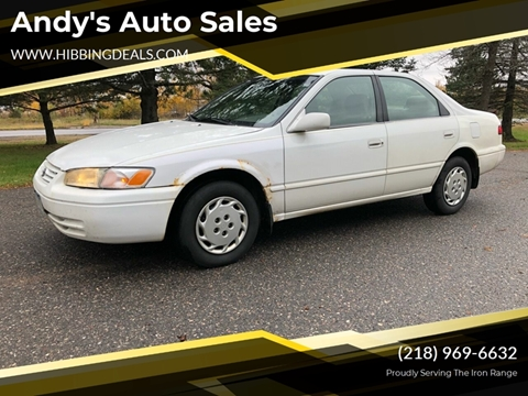 1998 Toyota Camry LE for sale at Andy's Auto Sales in Hibbing MN
