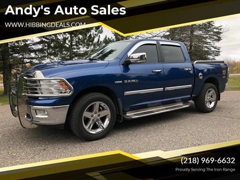 2009 Dodge Ram Pickup 1500 SLT Sport for sale at Andy's Auto Sales in Hibbing MN