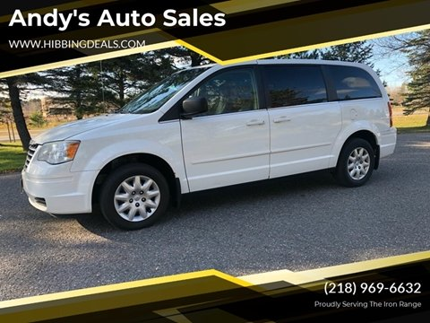 2009 Chrysler Town and Country LX for sale at Andy's Auto Sales in Hibbing MN