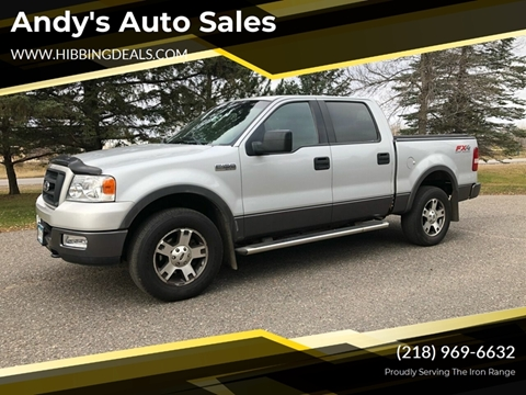 2004 Ford F-150 FX4 for sale at Andy's Auto Sales in Hibbing MN