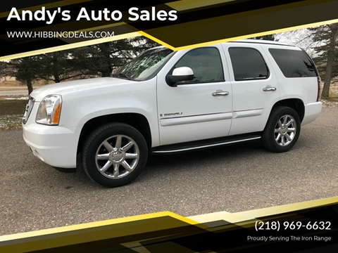 2007 GMC Yukon Denali for sale at Andy's Auto Sales in Hibbing MN