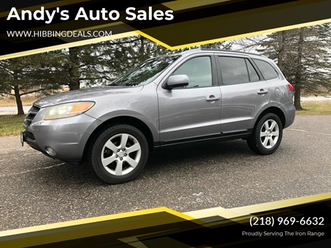 2007 Hyundai Santa Fe Limited for sale at Andy's Auto Sales in Hibbing MN