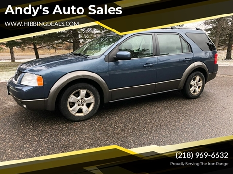 2005 Ford Freestyle SEL for sale at Andy's Auto Sales in Hibbing MN