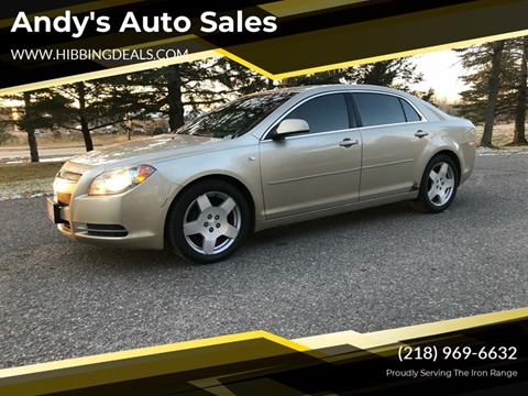 2008 Chevrolet Malibu LT for sale at Andy's Auto Sales in Hibbing MN