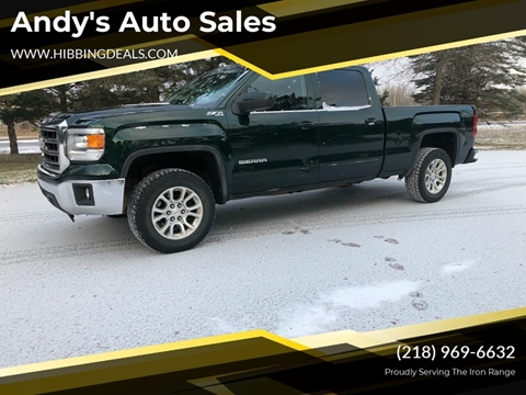 2014 GMC Sierra 1500 SLE for sale at Andy's Auto Sales in Hibbing MN