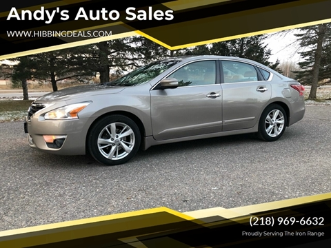 2013 Nissan Altima 2.5 SL for sale at Andy's Auto Sales in Hibbing MN