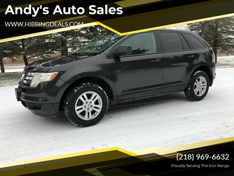 2007 Ford Edge SE for sale at Andy's Auto Sales in Hibbing MN