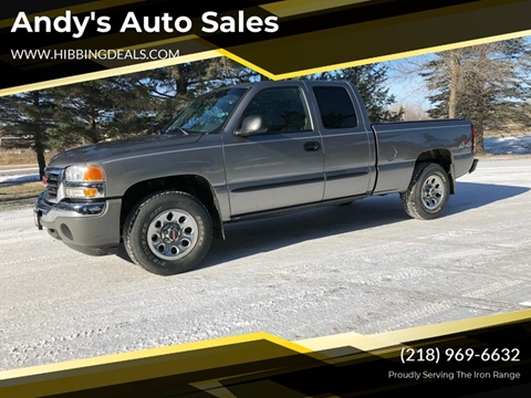 2006 GMC Sierra 1500 SLE1 for sale at Andy's Auto Sales in Hibbing MN