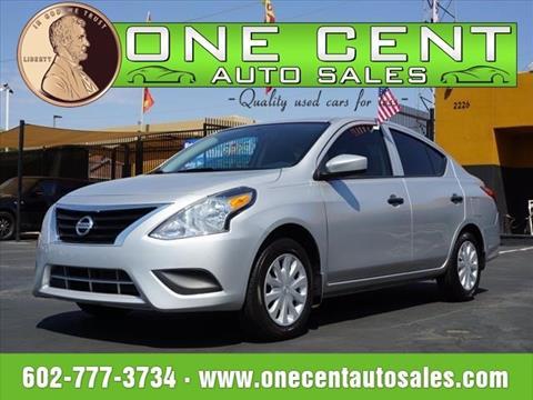 2016 Nissan Versa for sale in Phoenix, AZ