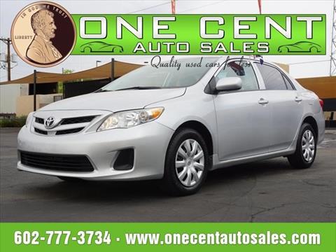 2013 Toyota Corolla for sale in Phoenix, AZ