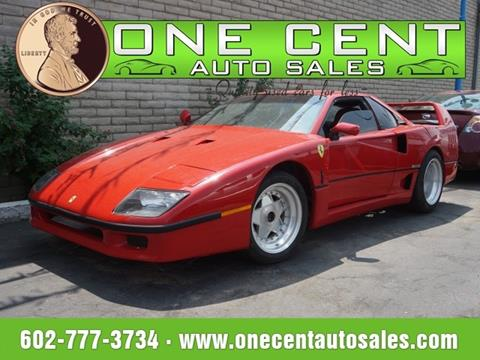 1986 Pontiac Fiero for sale in Phoenix, AZ