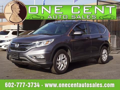 2016 Honda CR-V for sale in Phoenix, AZ
