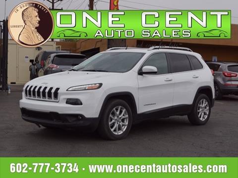 2015 Jeep Cherokee for sale in Phoenix, AZ