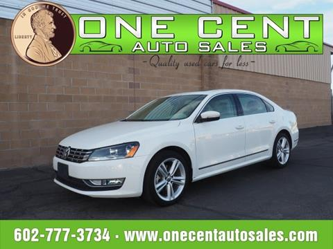 2014 Volkswagen Passat for sale in Glendale, AZ