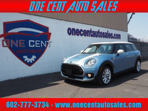 2017 MINI Clubman for sale at One Cent Auto Sales in Glendale AZ