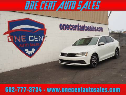 2017 Volkswagen Jetta for sale at One Cent Auto Sales in Glendale AZ