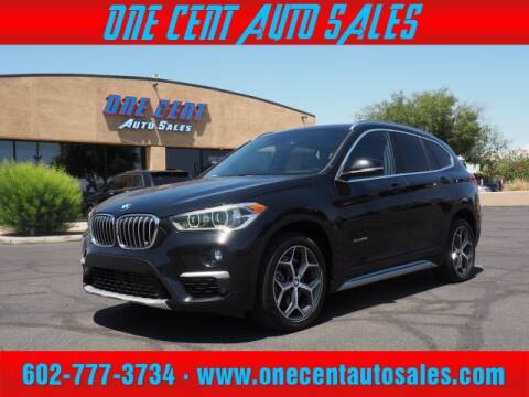 2017 BMW X1 for sale at One Cent Auto Sales in Glendale AZ
