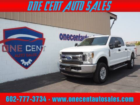 2018 Ford F-250 Super Duty for sale at One Cent Auto Sales in Glendale AZ
