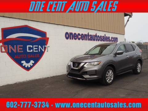 2017 Nissan Rogue for sale at One Cent Auto Sales in Glendale AZ