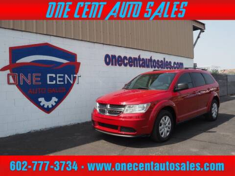 2016 Dodge Journey for sale at One Cent Auto Sales in Glendale AZ
