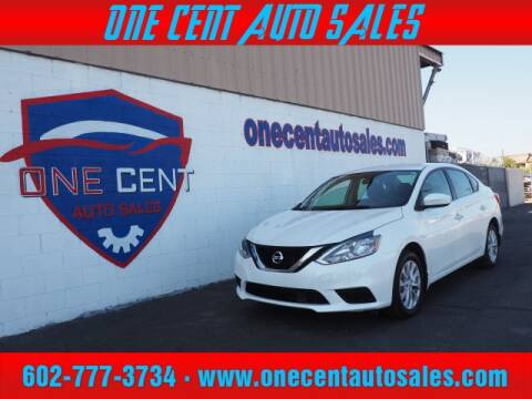 2019 Nissan Sentra for sale at One Cent Auto Sales in Glendale AZ