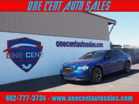 2018 Chrysler 300 for sale at One Cent Auto Sales in Glendale AZ