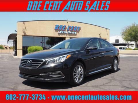2015 Hyundai Sonata for sale at One Cent Auto Sales in Glendale AZ