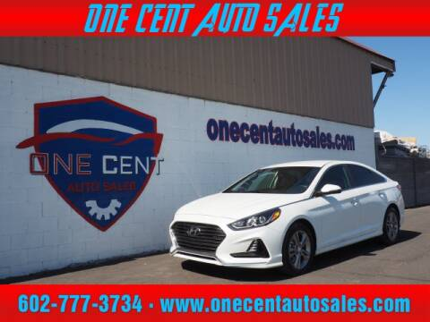 2018 Hyundai Sonata for sale at One Cent Auto Sales in Glendale AZ