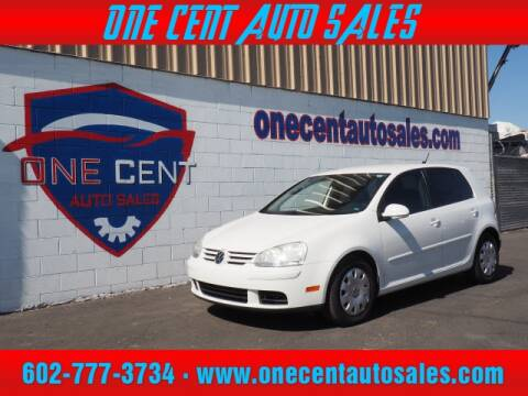 2008 Volkswagen Rabbit for sale at One Cent Auto Sales in Glendale AZ