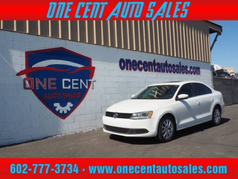 2013 Volkswagen Jetta for sale at One Cent Auto Sales in Glendale AZ