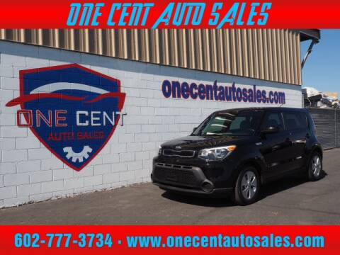 2015 Kia Soul for sale at One Cent Auto Sales in Glendale AZ