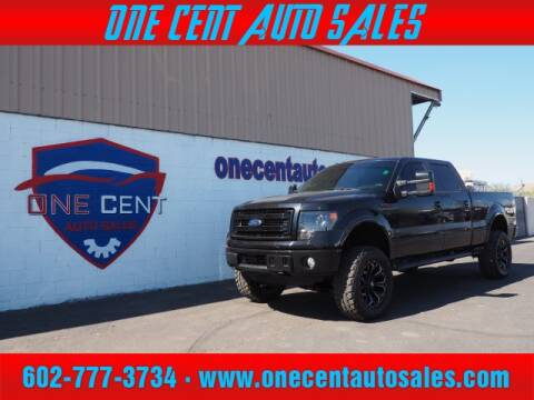 2013 Ford F-150 for sale at One Cent Auto Sales in Glendale AZ
