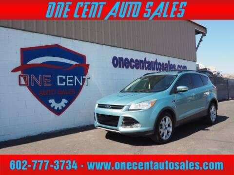 2013 Ford Escape for sale at One Cent Auto Sales in Glendale AZ
