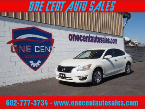2015 Nissan Altima for sale at One Cent Auto Sales in Glendale AZ