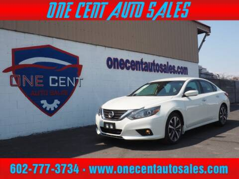 2016 Nissan Altima for sale at One Cent Auto Sales in Glendale AZ
