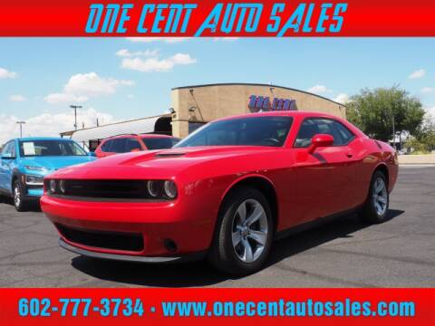 2017 Dodge Challenger for sale at One Cent Auto Sales in Glendale AZ