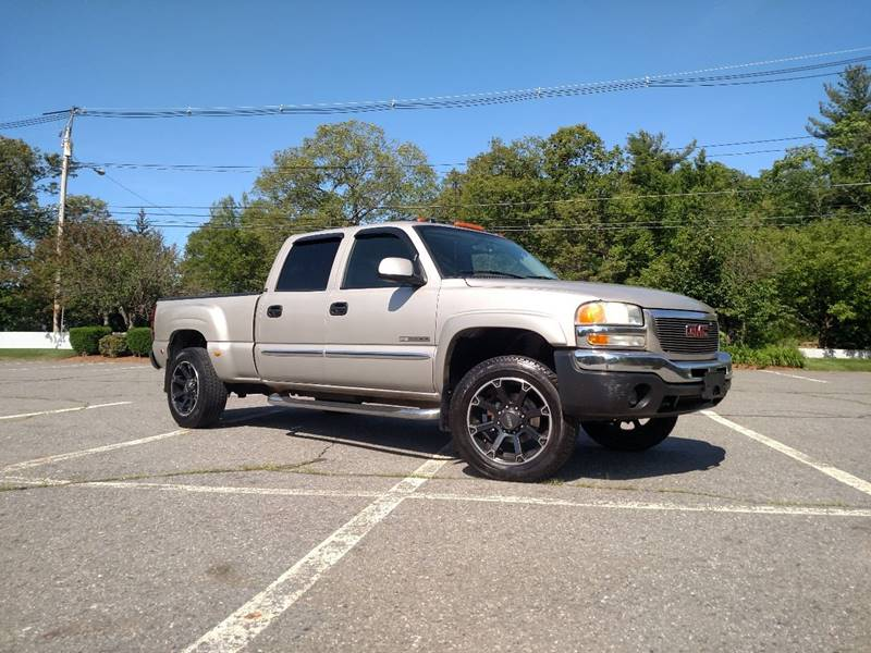 used denali gmc sale sierra truck for cab diesel lifted crew