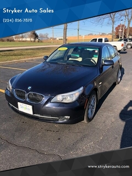 2009 BMW 5 Series for sale in South Elgin, IL
