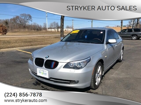 2010 BMW 5 Series 528i xDrive for sale at Stryker Auto Sales in South Elgin IL
