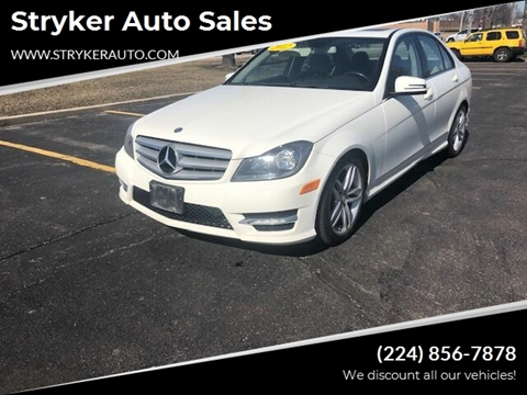 2012 Mercedes-Benz C-Class C 300 Sport 4MATIC for sale at Stryker Auto Sales in South Elgin IL