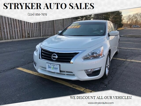 2013 Nissan Altima 2.5 SV for sale at Stryker Auto Sales in South Elgin IL