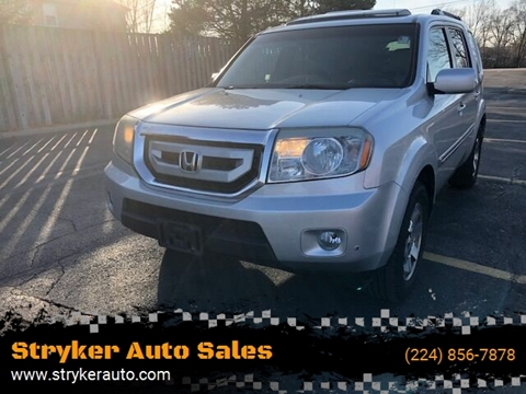 2009 Honda Pilot Touring w/Navi w/DVD for sale at Stryker Auto Sales in South Elgin IL