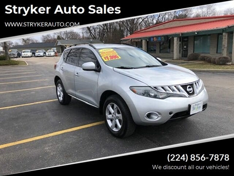 2009 Nissan Murano S for sale at Stryker Auto Sales in South Elgin IL