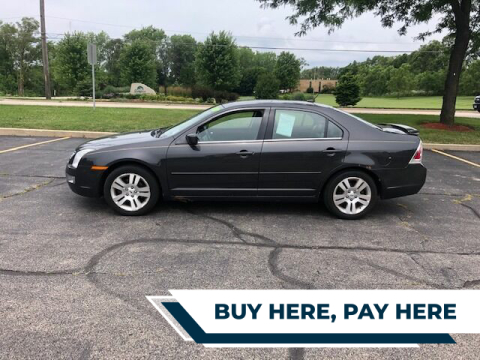2007 Ford Fusion for sale at Stryker Auto Sales in South Elgin IL