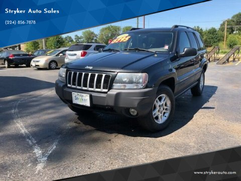 2004 Jeep Grand Cherokee for sale at Stryker Auto Sales in South Elgin IL