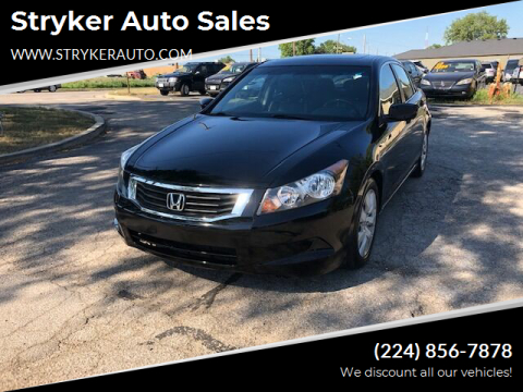2010 Honda Accord for sale at Stryker Auto Sales in South Elgin IL