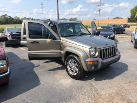 2003 Jeep Liberty for sale at Stryker Auto Sales in South Elgin IL