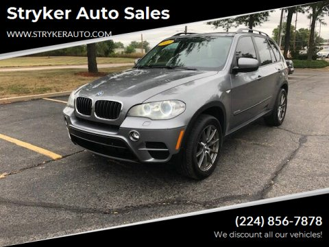 2012 BMW X5 for sale at Stryker Auto Sales in South Elgin IL