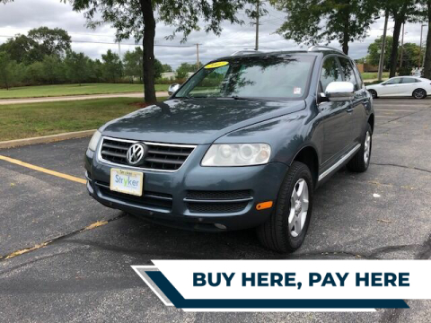 2007 Volkswagen Touareg for sale at Stryker Auto Sales in South Elgin IL